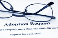Adoption request Stock Photos
