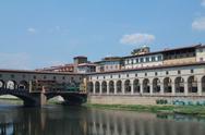 Ponte vecchio, in Florence. Stock Photos