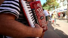 Street music Stock Footage