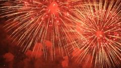 Fireworks Festival Stock Footage
