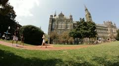 Georgetown University Stock Footage