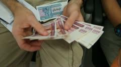 Burma Money 2 Stock Footage