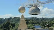Premium clip: arecibo radio observatory 4 Stock Footage