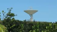 Premium clip: arecibo radio observatory satelite link 1 Stock Footage