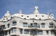 Stock Photo of gaudi building in barcelona