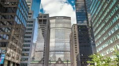 MetLife Building in New York City Timelapse Park Ave Daytime NYC 4K Stock Footage