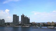 Miami Aerial View Stock Footage