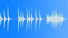 Metal dustbin banged Sound Effect