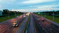 Stock Video Footage of Timelapse Traffic