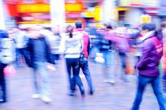 People on street Stock Photos