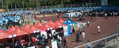 Job fairs Stock Photos