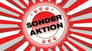 Stock Video Footage of Sonder Aktion