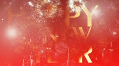 New year website header 6 Stock Footage