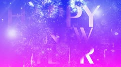 New year website header 7 Stock Footage
