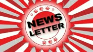 News Letter Stock Footage