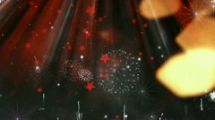 Happy New Year 2013 different animation 15 Stock Footage