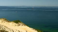 Sand Cliffs Martha's Vineyard; 6 Stock Footage