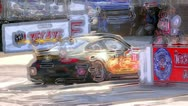 Grand Prix racing photo medley for promo work - V2 Stock Footage