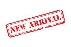 New arrival rubber stamp Stock Illustration