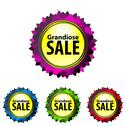 Stock Illustration of grandiose sale