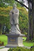 Monument of Confucius - stock photo