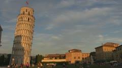 Italy, Pisa, Pizza dei Miracoli - stock footage