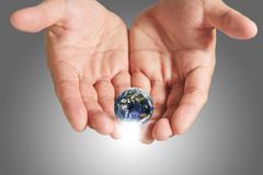 Stock Illustration of saving the earth