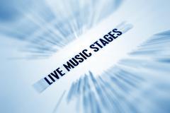 live music - stock photo