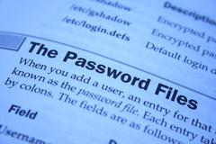 Password files Stock Photos