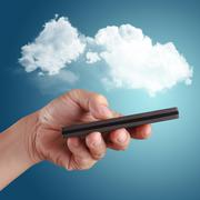 Stock Illustration of cloud computing concept