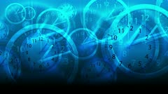 Time Flies Background - Clock 80 (HD) - stock footage