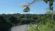 Premium clip: arecibo radio observatory 6 Stock Footage