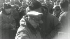 GENERAL DOUGLAS MacArthur Korean War (Vintage Military News Film Footage) Stock Footage