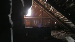 In the attic Stock Footage