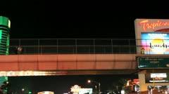Night time Vegas V20 - HD Stock Footage