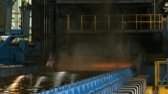 Metal mill Stock Footage