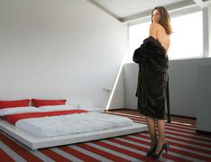 glamour woman - stock photo