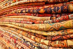 Persian carpets Stock Photos