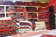Stock Photo of Carpet shop