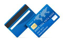 Credit card Stock Illustration