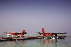 Seaplanes Stock Photos