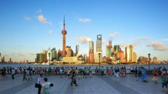 "Shanghai, Time lapse(Hyperlapse).>>>please Search: ""ShanghaiSkyline"" - stock footage"