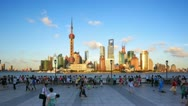 Stock Video Footage of Shanghai, Time lapse(Hyperlapse)