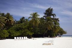 Vacation island Stock Photos