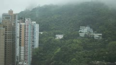 Time lapse Hong Kong Mountain Stock Footage