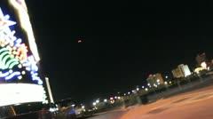 Night time Vegas V2 - HD Stock Footage