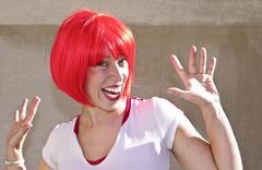 Redheaded cutie Stock Photos