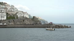 Italy Amalfi Coast - stock footage