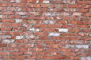 Stock Photo of old red brick wall