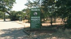 Chobe National Park Botswana Stock Footage